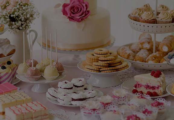 Słodki kącik na weselu Drezdenko