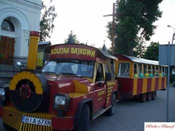 Kolejka Bajkowa, Unikatowe atrakcje Choroszcz