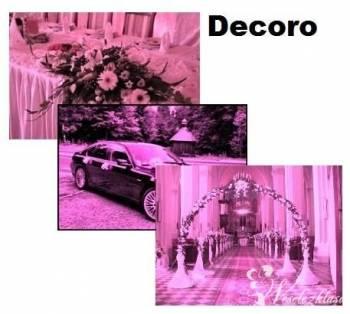 Dekoracje weselne ślubne  firma , Dekoracje ślubne Choszczno