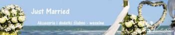 Sklep weselny JUST MARRIED, Artykuły ślubne Głowno