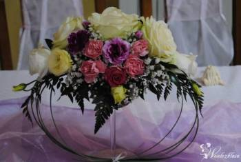 Moja zabawa z florystyką zapraszam na stronę, Dekoracje ślubne Choszczno