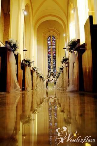 Dekoracje ślubne i komunijne kościołów, wiązanki, Dekoracje ślubne Jawor