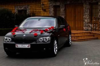 BMW 750 i LONG --- OKAZJA Z KLASĄ -- MERCEDES ML , Samochód, auto do ślubu, limuzyna Raciąż
