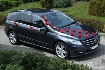 Wyjątkowy Mercedes R350 - wesele z R klasą !!!, Samochód, auto do ślubu, limuzyna Żabno