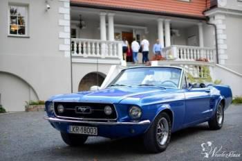 Mustang 67 cabrio do ślubu wynajem sam prowadzisz, Samochód, auto do ślubu, limuzyna Poniatowa