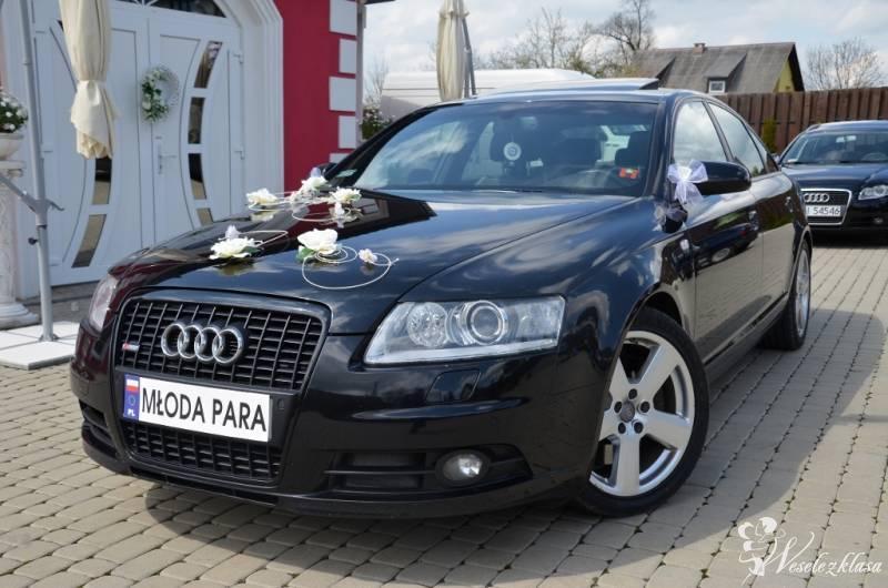 *Czarne* Audi A6 S6 S-line wynajem do ślubu 400zł, Mszana Dolna - zdjęcie 1