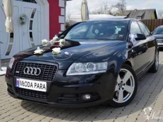 *Czarne* Audi A6 S6 S-line wynajem do ślubu 400zł,  Mszana Dolna
