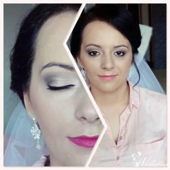 wizaż ,make-up, makijaż ślubny-Selective, Makijaż ślubny, uroda Pionki