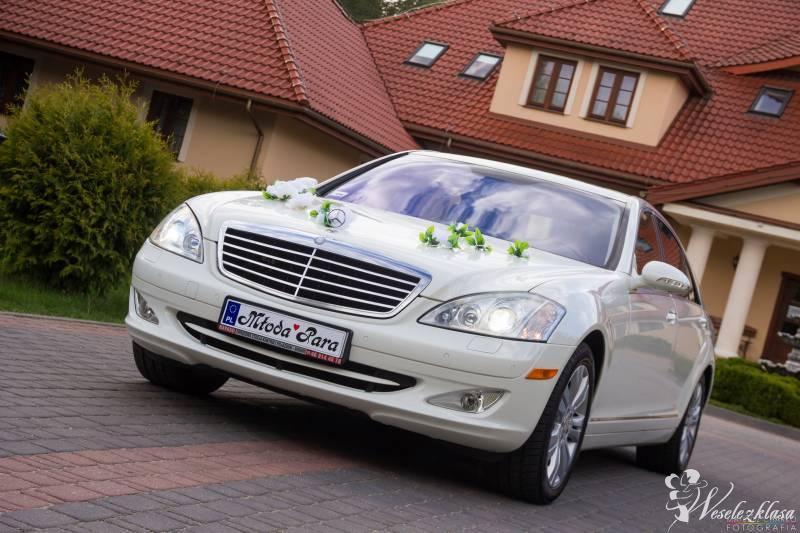 Piękny biały Mercedes 550 LONG LIMUZYNA VIP!!!, Białystok - zdjęcie 1