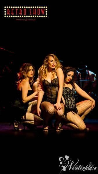 Burleska,taniec,kabaret, Retro Show, Pokaz tańca na weselu Wąbrzeźno