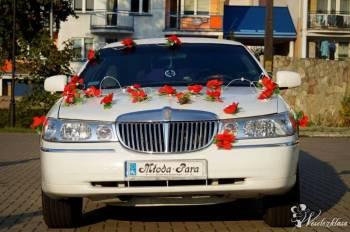 Limuzyna *Biała* , Samochód, auto do ślubu, limuzyna Mońki