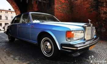 Zabytkowy Rolls-Royce do ślubu, Samochód, auto do ślubu, limuzyna Kruszwica