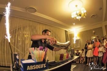Barman na wesele , Pokaz barmański na weselu Korsze
