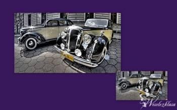 Retro samochód do ślubu, Samochód, auto do ślubu, limuzyna Głowno