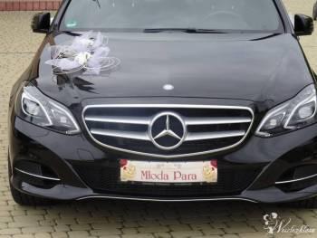 RH Czarny elegancki Mercedes do Ślubu, Samochód, auto do ślubu, limuzyna Kańczuga