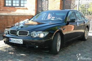 Limuzyna - BMW 7, Samochód, auto do ślubu, limuzyna Koszalin
