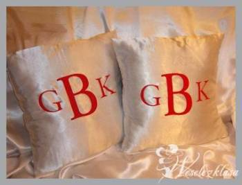 Dekoracje ślubne, personalizowane dywany i obrusy., Dekoracje ślubne Mogilno