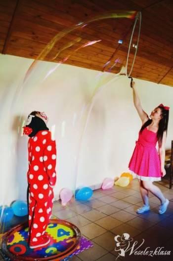 Bańki mydlane, zamykanie w bańce, wytwornica :), Balony, bańki mydlane Lipno