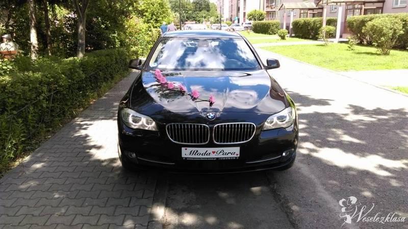 Auto do ślubu BMW F10 Serii 5 Limuzyna Adrian, Warszawa - zdjęcie 1