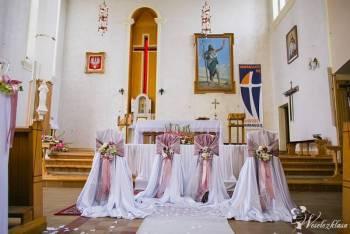 Lawendowa Szafa - dekoracje kościołów, sal i aut, Dekoracje ślubne Zambrów