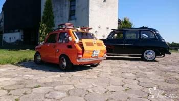 Małym Fiatem 126p do ślubu, Samochód, auto do ślubu, limuzyna Gdańsk