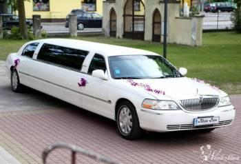 Ekskluzywna, Biała Limuzyna Lincoln na Twoje Wyjątkowe Wesele!!, Samochód, auto do ślubu, limuzyna Kałuszyn