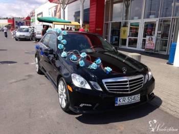Mercedes E350 Bluetec , Samochód, auto do ślubu, limuzyna Przecław
