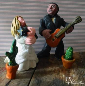 Personalizowane figurki na tort weselny, Artykuły ślubne Przysucha
