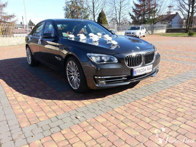 BMW F01 zawioze do slubu, Częstochowa - zdjęcie 1