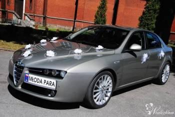 Auto do ślubu elegancka Alfa Romeo 159, Samochód, auto do ślubu, limuzyna Skalbmierz