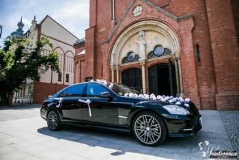 TANIO Mercedes S-klasa BRABUS lub E63 AMG S, Samochód, auto do ślubu, limuzyna Pobiedziska