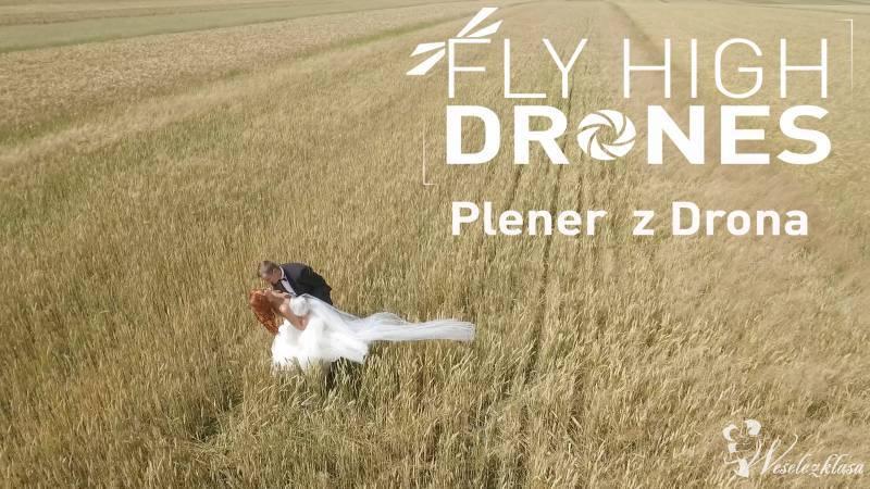 Plener ślubny z drona, filownie i zdjęcia, Piotrków Trybunalski - zdjęcie 1