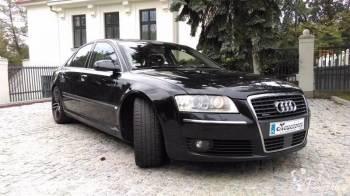Eleganckie Audi A8, Samochód, auto do ślubu, limuzyna Toruń