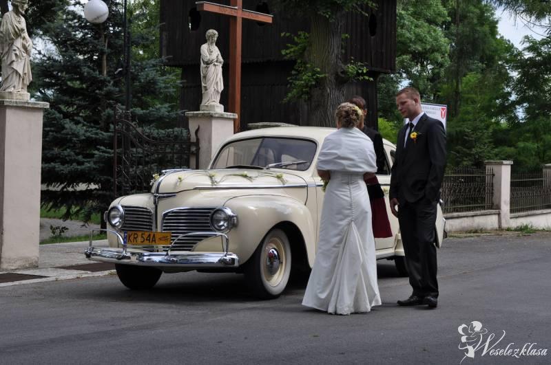 Najpiękniejsze zabytkowe samochody do ślubu, Kraków - zdjęcie 1