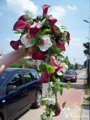 Bukiety ślubne,dekoracje kościoła,samochodu,s ali, Kwiaciarnia, bukiety ślubne Mysłowice