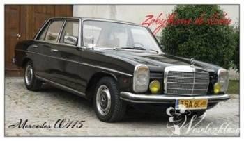 Zabytkiem do ślubu- Mercedes W115, Samochód, auto do ślubu, limuzyna Włoszczowa