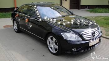 EKSKLUZYWNY MERCEDES S-KLASA i BMW 7 *BIAŁA* PERŁA, Samochód, auto do ślubu, limuzyna Dobra Wielkopolskie