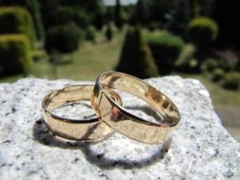 Obrączki ślubne klasyczne złote, Obrączki ślubne, biżuteria Myszków