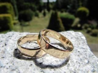 Obrączki ślubne klasyczne złote,  Częstochowa
