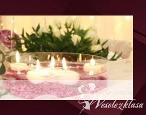 kava i rubin - dekoracje ślubne, dekoracje sal, Kraków - zdjęcie 1