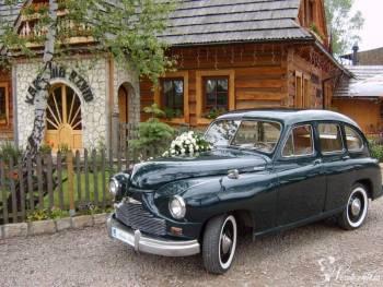 ZABYTKOWY SAMOCHÓD DO ŚLUBU - jedyny egz. w Polsce, Samochód, auto do ślubu, limuzyna Skała