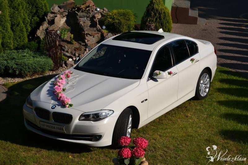 Auto do ślubu BMW F10 *Biała*, Mińsk Mazowiecki - zdjęcie 1
