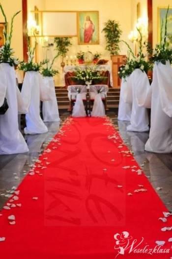 Dekoracje balonowe, kościołów sal weselnych i inne, Dekoracje ślubne Zakroczym
