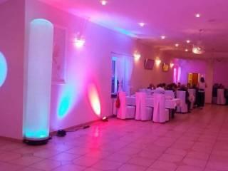 Dekoracja sal weselnych światłem led, Dekoracje światłem Świdnica