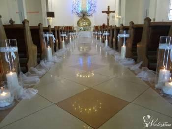 Dekoracja kosciola - dekoracje slubne - OmniaDecor, Dekoracje ślubne Chełmża