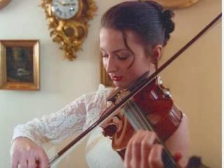 Skrzypce na ślubie skrzypek po studiach skrzypcowych,  Cieszyn