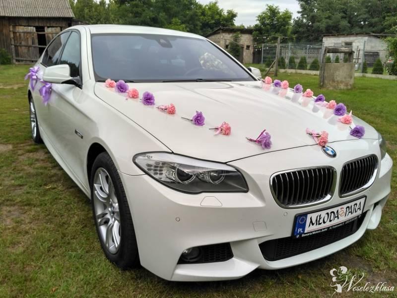 BMW 5 F10  *Białe* M pakiet wesele auto do ślubu, Belsk Duży - zdjęcie 1