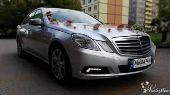 Samochód do ślubu - Mercedes E, Mercedes S., Samochód, auto do ślubu, limuzyna Bytom
