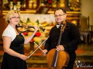 Skrzypce Wiolonczela Profesjonalna oprawa muzyczna ślubów,  Lublin