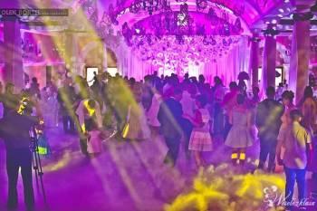 Scenika - Dekoracje światłem, ciężki dym, napisy na wesele, Dekoracje światłem Rydzyna